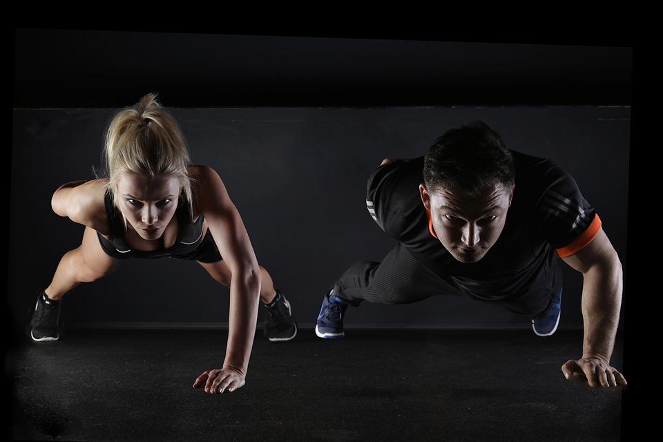 maneiras de perder peso - push up