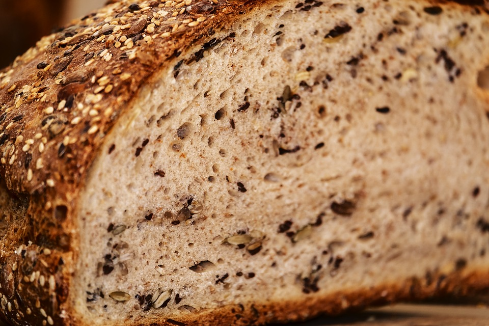 pão em dieta