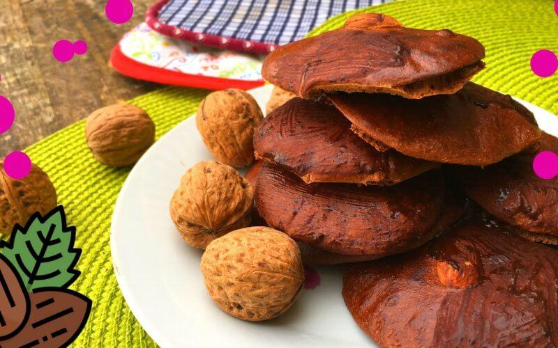bolachas saudáveis de chocolate e amêndoa
