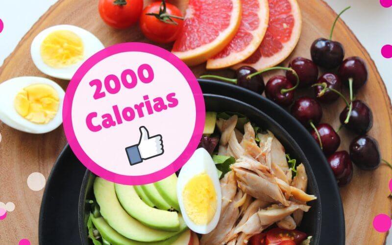 dieta de 2000 calorias