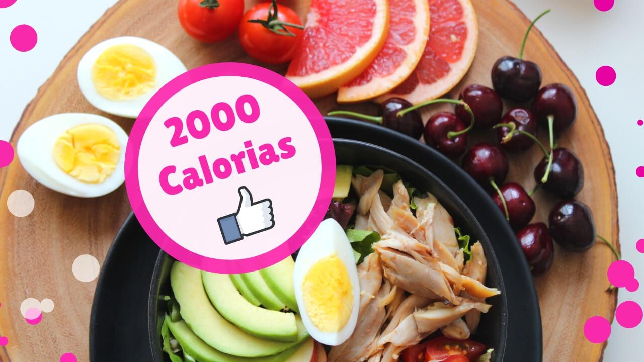 2000 kcal diéta