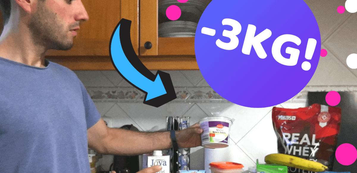 como perder 3 quilos