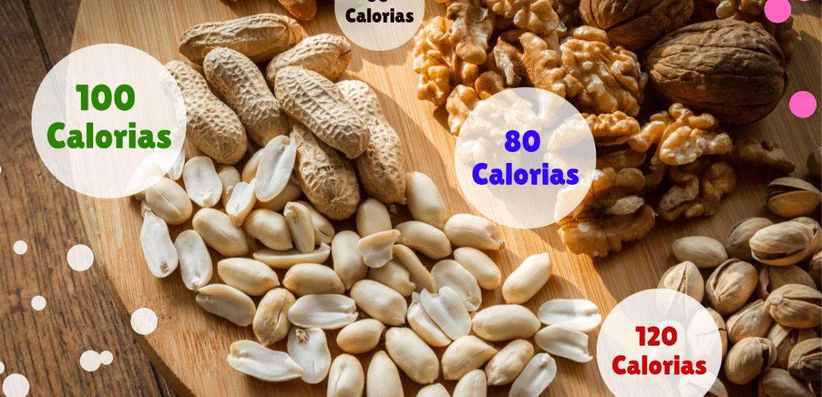 100 Calorias em Frutos Secos