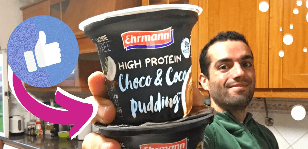 Pudim Proteico Ehrmann