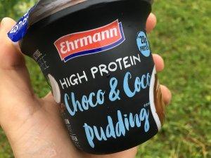 Pudim Proteico Ehrmann coco