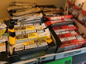 barras proteicas lidl supermercado