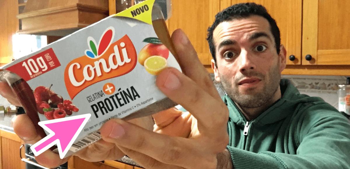 gelatina condi mais proteina