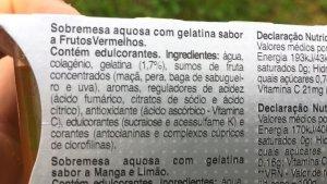 gelatina condi mais proteina ingredientes