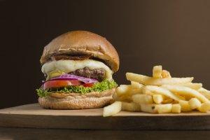 hamburguer 500 calorias