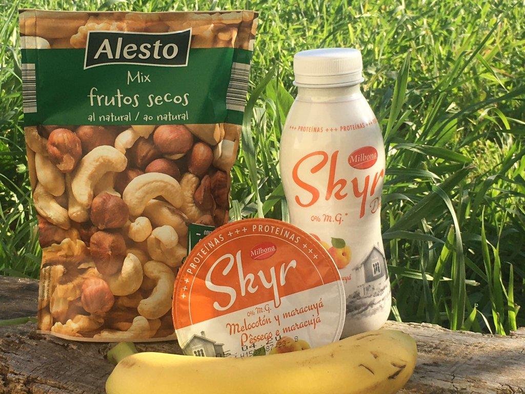 ideias para um pequeno-almoço rico em proteina skyr