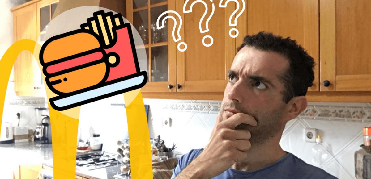 o que pedir no mcdonalds dieta
