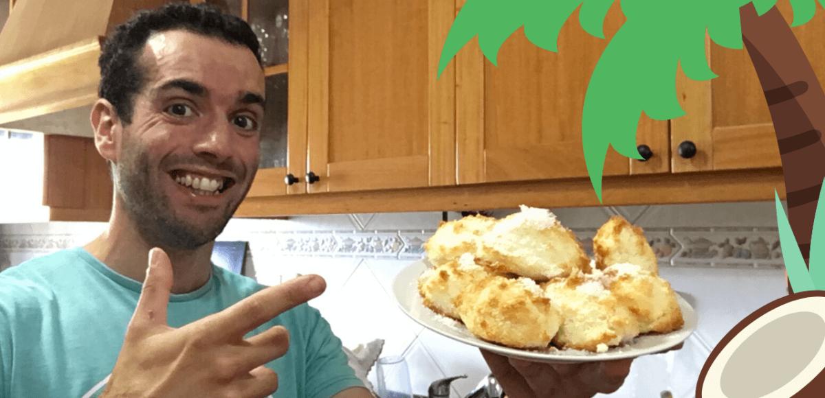 bolinhos de coco saudaveis