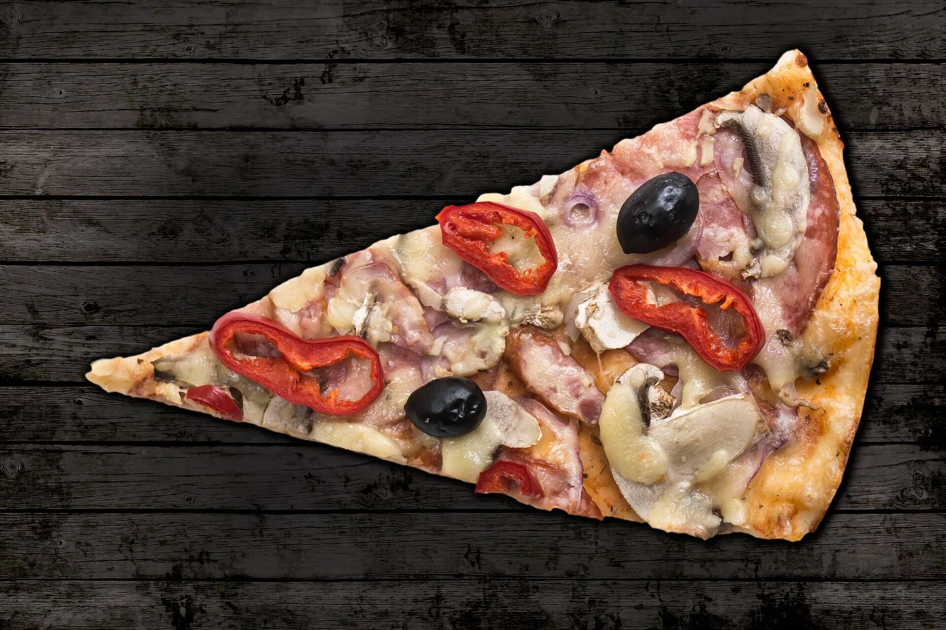 tornar a dieta mais fácil pizza