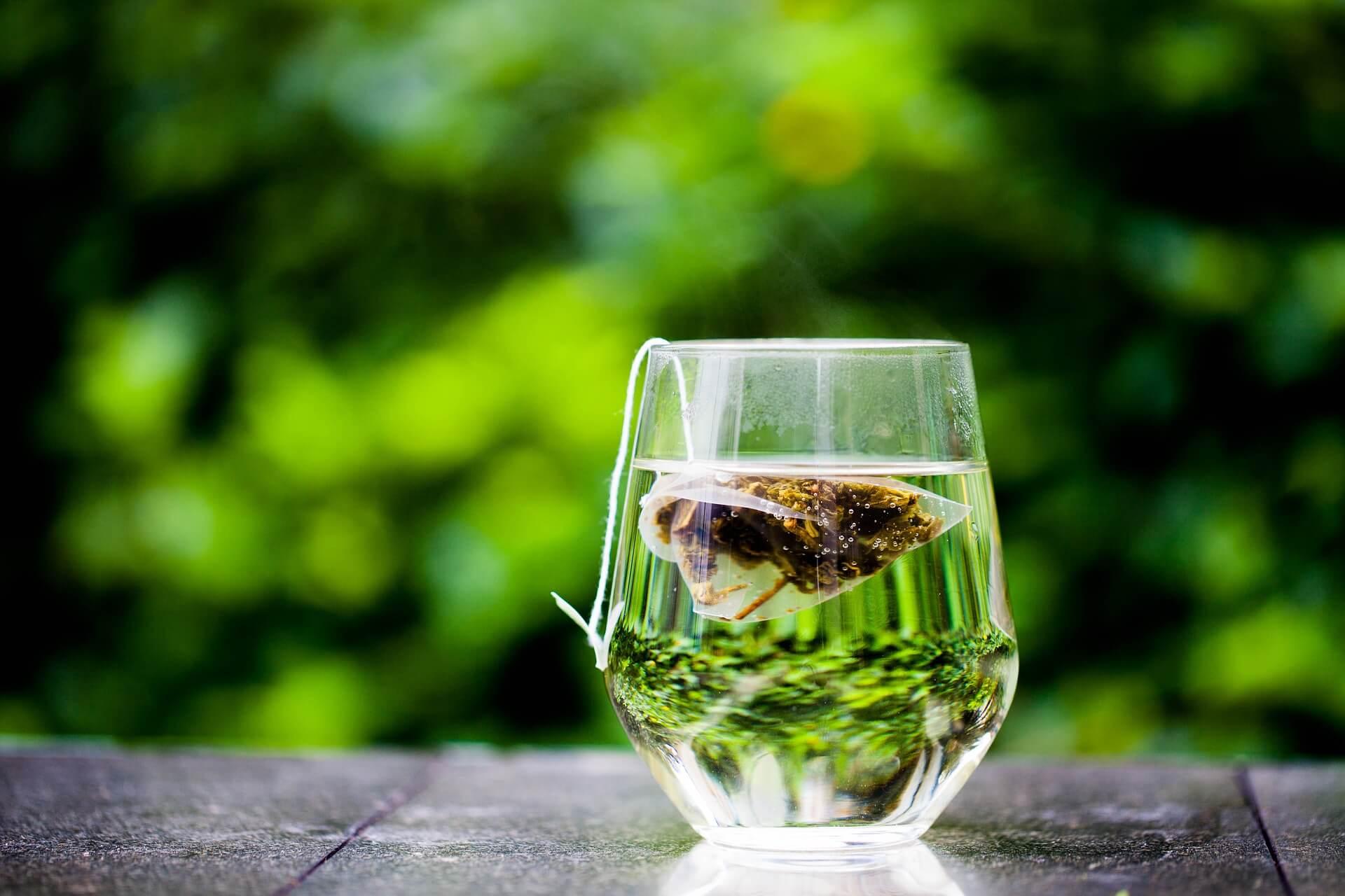 chá verde celulite