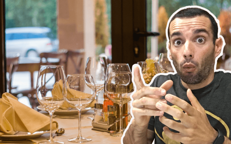 comer no restaurante e perder peso