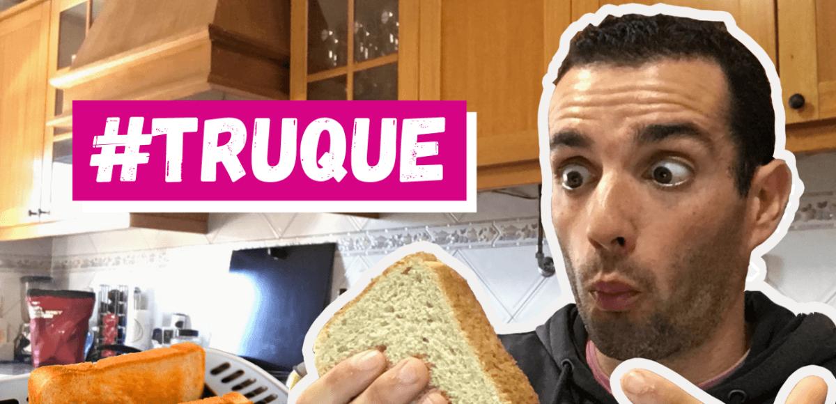 diminuir o impacto do pão no peso