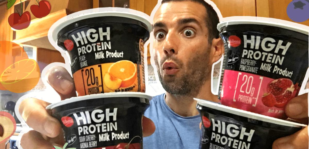 iogurte com proteína lidl