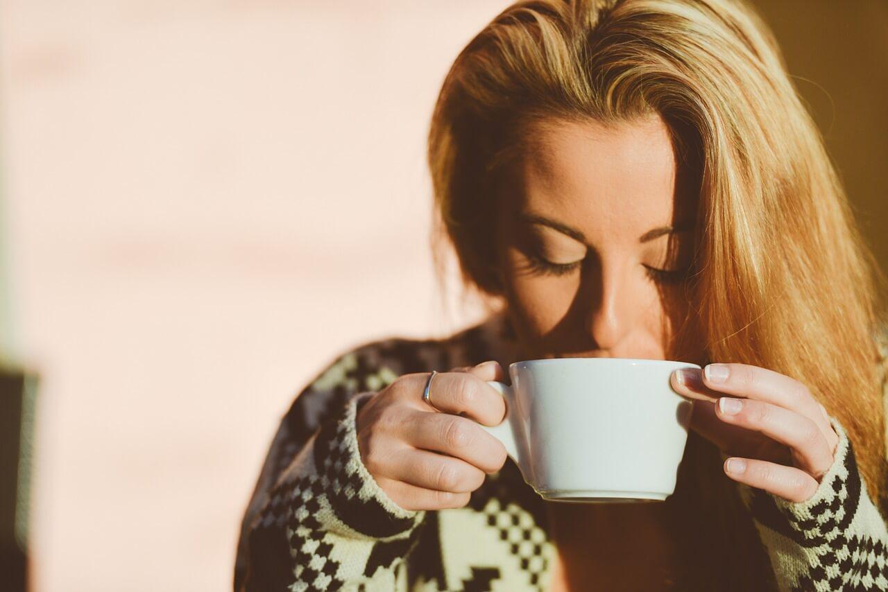 perder peso na menopausa café